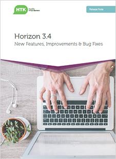 Horizon login page